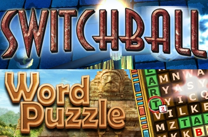Switchball & Word Puzzle Banner
